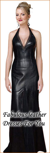  Fabulous Leather Dresses