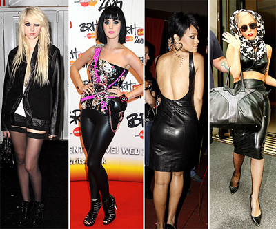 Goth Fashion Trends on Leather Style Trends     Get The Goth Look
