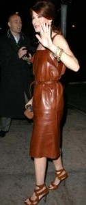 Partyware Leather Dresses