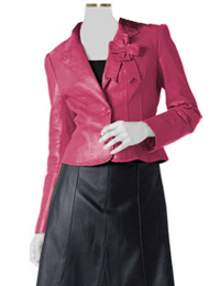 formal leather wear
