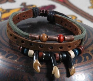leather bracelets