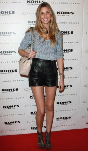 Leather Shorts Strengthen The Shape Line And Glamour In Women