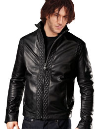 Fancy and Stylish Leather Bomber Jacket :  bomber jacket fancy leather jacket mens leather jacket mens clothing