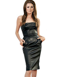 Leather Gowns | Womens Leather Dress