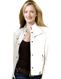 Womens Leather Jacket | Independence Day Special Collection