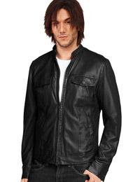 Trendy Front Zipper Closure Jacket | US Independence Day Special from leathericon.com