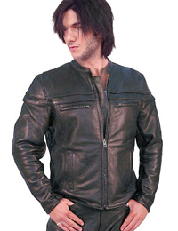Rocking Smart Leather Jacket from leathericon.com