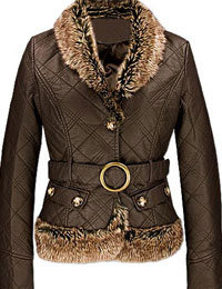 Quilted Premium Leather Jacket for Men