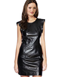 Mini Leather Christmas Dress | Christmas Party Leather Dress :  christmas party dress womens leather dress christmas party wear leather dress for christmas