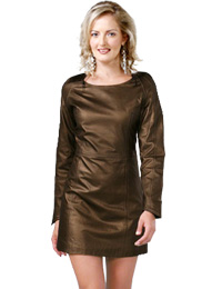 Awesome Mini Winter Dress | Womens Leather Dresses :  winter leather dress womens winter dress leather dress for winter mini winter dress