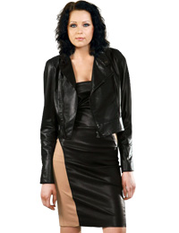 Winter Leather Jackets for Women from leathericon.com