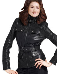Classy New Year Leather Jacket for Womens