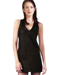 Sexy Short Leather Dress | Womens Day Dresses :  womens leather dress hot leather dress leather dress for womens day sexy leather dress