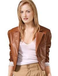 Awesome Cropped Leather Jacket Specially for Youth Day from leathericon.com