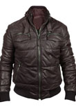 Excellent Leather Bomber Jacket for Men
