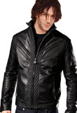 Fancy and Stylish Leather Bomber Jacket