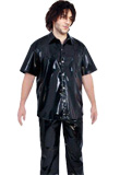 Cheap Chic PVC Shirt And Trouser for Men