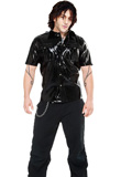 Cheap Supremely Stylish PVC Shirt for Men