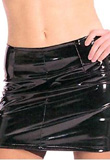 Versatile Mini PVC Skirt | Womens PVC Skirts