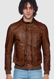 Mens Celebrity Style Leather Jacket Online