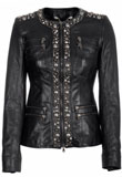 Beautifully Studded Leather Jacket | Celebrity Style Leather Jacket
