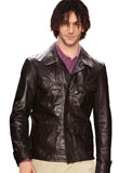 Christmas Leather Jacket for Men