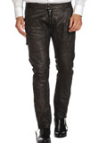 Buy Stylish Tight Fitted Christmas Leather Pants