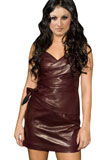 Gorgeous Leather Mini Dress | Womens Leather Dress