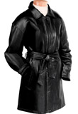 Designer Trench Leather Coat | Independence Day Collection