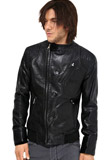 Splendid Slim Fit Leather Jacket | Independence Day Special Collection
