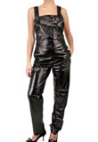 Casual Leather Jumpsuit | Jump Suit