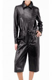 Capri Leather Jumpsuit | Womens Leather Jumpsuits