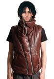 Mens Sleeveless Leather Jacket Online