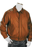 Office Wear Soft Lamb Leather Blazer for Mens