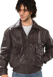 Shirt Collar Easter Leather Jacket | Mens  Leather Clothing