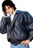 Edgy Easter Leather Jacket | Mens Fashion