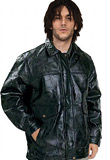 Long Easter Leather Jacket | mens wardrobe