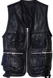 Mens Leather Vest | Easter Leather Clothes