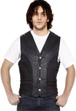 Casual Fall Leather vest | Leather Vests For Men