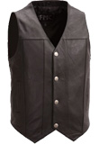 Unique Leather Vest | Leather Vests For Mens