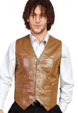 Special New Year Leather Vest | Mens Leather Vests