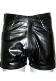Smart Leather Summer Shorts