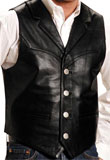 Spring Leather Vest | Mens Leather Vest
