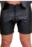 Amazing Leather Shorts | Spring Leather Short for Men