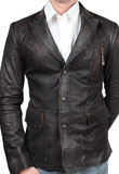 Stylish Spring Leather Jacket for Men