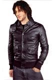 Fitted Spring Leather Jacket | Men Leather Colletcion 