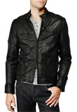 Stylish Zippered Leather Jacket | Gifts for Thanksgiving