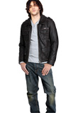 Designer Shirt Style Collared Jacket | Youth Day 2010 Leather Jackets