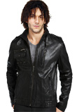 Leather Jacket collection for Youth Day | Classic Crinkled Leather Jacket