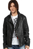 Fascinating Front Zippered Closure Jacket | Leather Jackets for Youth Day